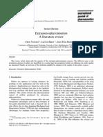 extrusion-spheronisation