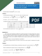 2a_Équations et inéquations du second degré - Exercices corrigés_revRC_20180531.pdf