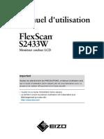 EIZO FLEXSCAN 2433 SW Manual-FR.pdf