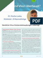 Sämtliche Virusbehauptungen widerlegt - Interview mit Dr. Stefan Lanka Juli 2020