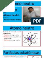 Átomo neutro