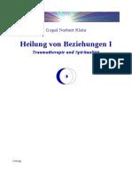 Gopal-Norbert Klein - Heilung von Beziehungen I (bestes Buch über Beziehungen)
