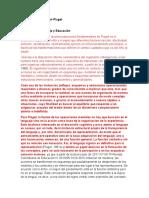 Teoría cognitiva según Piaget