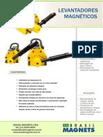 BRASIL Magnet Levantador