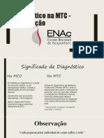 SLIDES 01. Diagnóstico pela Observação na MTC
