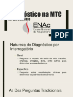 SLIDES - Diagnóstico pelo Interrogatório