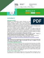 MODULO 6 - ACTIVIDAD 4