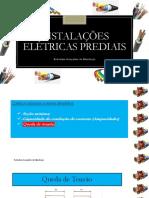 4 - INSTALAÇÕES ELÉTRICAS PREDIAIS - Dimensionamento de Condutores - Parte 2