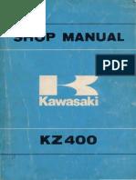 Manuale d Officina Z400D