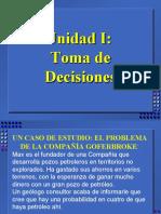 1. Toma de Decisiones