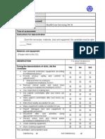 AM Requirement Demonstration  checklist