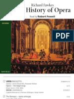 The History of Opera Naxos