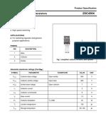 datasheet 2SC4304 substitui o STD5915