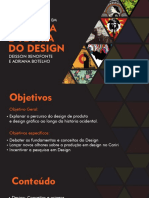 Slides aula história e teoria do design