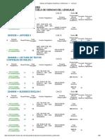 3. Idiomas Extranjeros (revisar grupos asignados para 3250 y 3260)