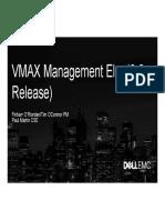 emc vmax Management - Elm Essentials KT