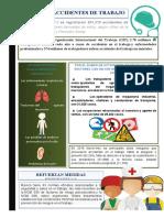 Infografia Riesgos laborales