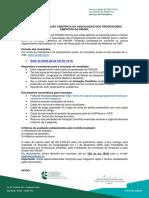 EDITAL 2020 PROFESSORÉS EMÉRITOS