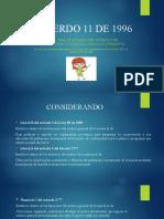 ACUERDO 11 DE 1996 GESTION DOCUMENTAL