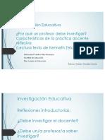 Por qué un profesor debe investigar y Sesión la practica docente reflexiva_Zeichner.pdf