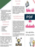 Roles del docente y alumno