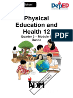 PHYSICA EDUCATION AND HEALTH 12 MODULE 1