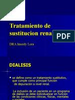 5 EX tratamiento sustitutivo renal
