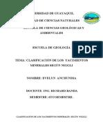 clasificacion de yacimientos minerales segun niggli.docx