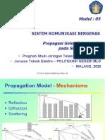 5.Materi 5. Propagasi Gelombang Radio Pada Cellular