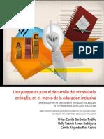 Propuesta Vocabuario Inglés