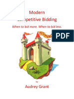 Modern Competitive Bidding Handout(格兰特 Audrey Grant)