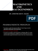 PHARMACOKINETICS AND PHARMACOGENOMICS