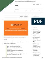 Solucionar Error_ Apache shutdown unexpectedly en Xampp - Huberto Bueno