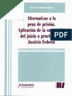 Alternativas a la pena de prisi - Battola, Karina Edith