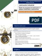 2. Lubricación I-Diseño de programa de lubricación