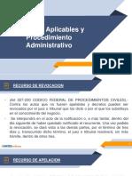 Recursos Aplicables y Procedimiento Administrativo.pdf