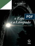 A imitação e o espelho, Abrams, M. H..pdf