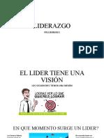 SESION III PRELIMINARES DE LIDERAZGO