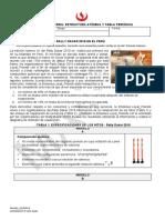 Materia, Estructura Atómica y Tabla Periódica