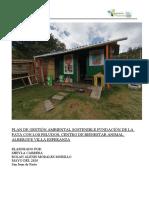 PLAN DE GESTION AMBIENTAL SOSTENIBLE FUNDACION DELA PATA CON LOS PELUDOS ALBERGUE (1).docx