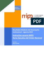 Instructivo MIPG