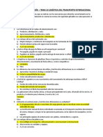TEST DE AUTOEVALUACIÓN TEMA 10 LOGISTICA DE TRANSPORTE