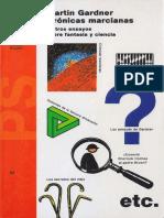 Crónicas Marcianas y otros ensayos sobre fantasía y ciencia, 2019, (Ensayo Feynman) - Martín Gardner