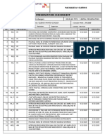 Preservation Check Sheet PROD