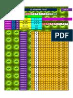 TEK LOTERIAS F 10 - 13 - 15(5)
