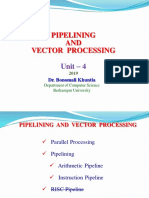 Lecture 8  Unit 4 Pipeline and Vector Processing 2019