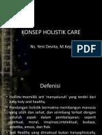 KONSEP HOLISTIK CARE