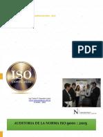 AUDITORIA ISO 9001-2015