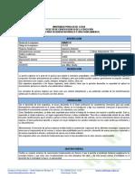 PLAN  DE ASIGNATURA QUIMICA II