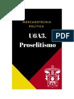 U6A3. Proselitismo SoniaMagallanes